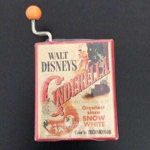 Walt Disney Cinderella mini music box